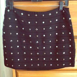 Express black mini skirt - size 6